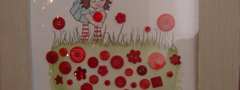 Lizzie's Garden Grows Buttons